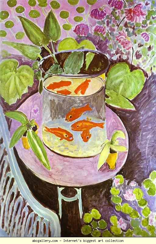 Henri Matisse. Red Fish. 1911