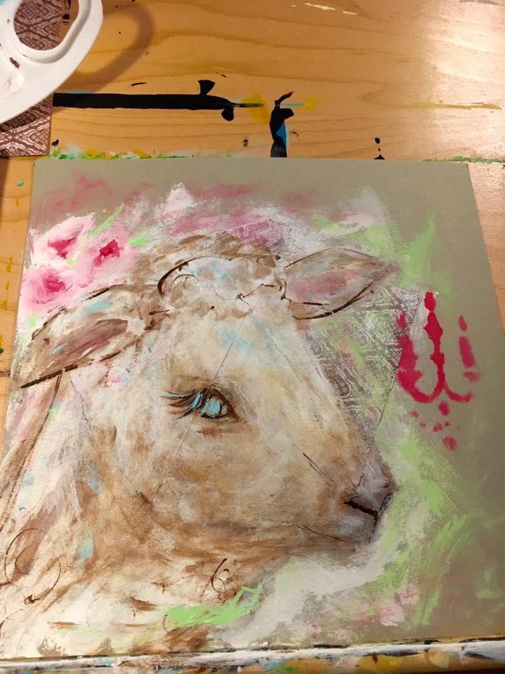 practice lamb
