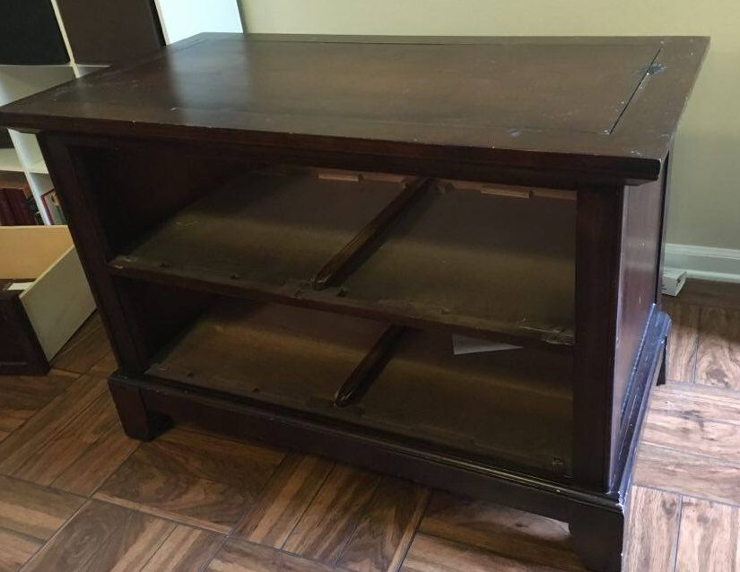 Drawers Removed